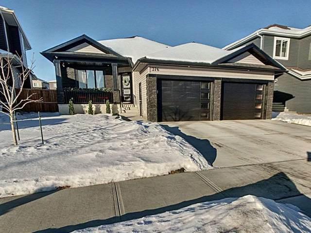 376 Meadowview Drive, Fort Saskatchewan, AB T8L 0N9 (#E4236643) :: RE/MAX River City