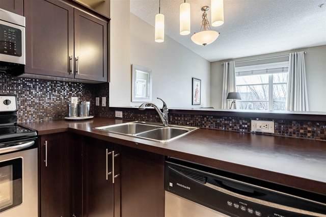 309 2584 Anderson Way, Edmonton, AB T6W 0R2 (#E4236729) :: Initia Real Estate