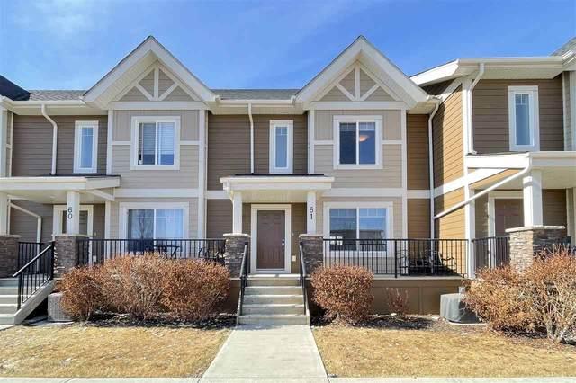 61 1150 Windermere Way, Edmonton, AB T6W 2B6 (#E4236850) :: Initia Real Estate
