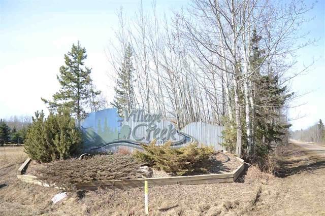 12 Village Creek Estates, Rural Wetaskiwin County, AB T0C 2V0 (#E4236880) :: Initia Real Estate