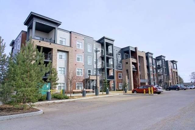 406 504 Griesbach Parade NW, Edmonton, AB T5E 6V9 (#E4236949) :: Initia Real Estate