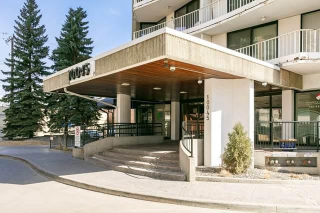 901 10045 117 Street, Edmonton, AB T5K 1W8 (#E4237048) :: Initia Real Estate