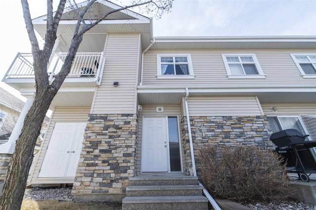 46 3040 Spence Wynd, Edmonton, AB T6X 1N7 (#E4237050) :: Initia Real Estate