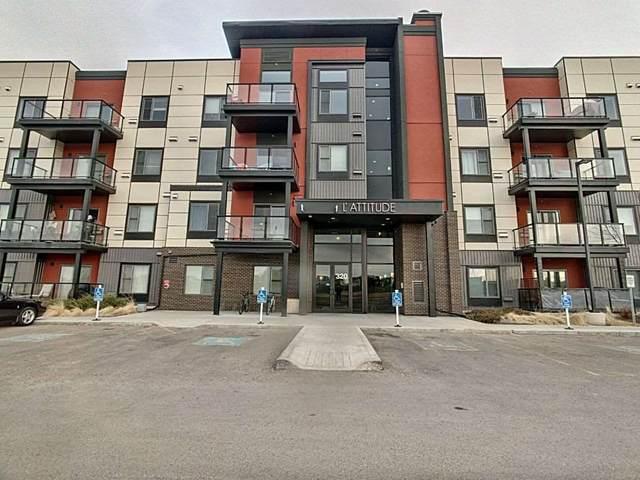 104 - 320 Ambleside Link, Edmonton, AB T6W 2Z9 (#E4237077) :: Initia Real Estate