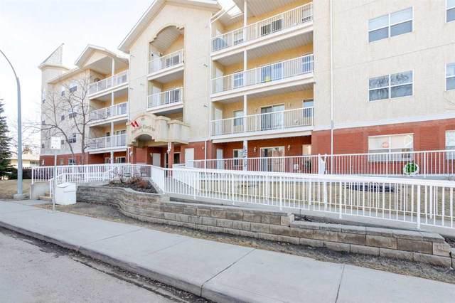 210 8215 84 Avenue, Edmonton, AB T6C 4R2 (#E4237166) :: Initia Real Estate