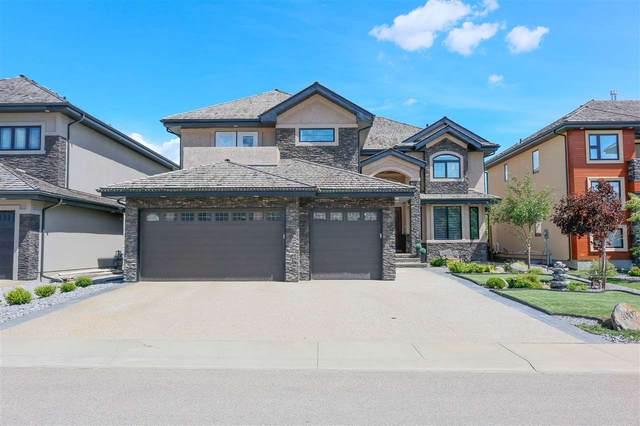 4007 Westcliff Place SW, Edmonton, AB T6W 0X2 (#E4237174) :: Initia Real Estate