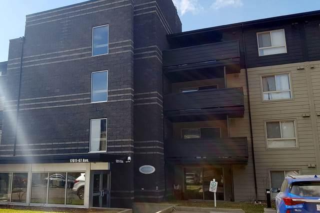 424 17011 67 Avenue, Edmonton, AB T5T 6Y6 (#E4237204) :: Initia Real Estate