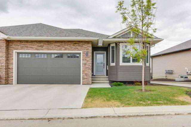 #8 7115 Armour Link, Edmonton, AB T6W 2V2 (#E4237254) :: Initia Real Estate