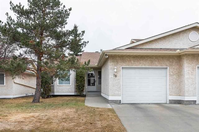 29 9375 172 Street, Edmonton, AB T5T 3C5 (#E4237463) :: Initia Real Estate