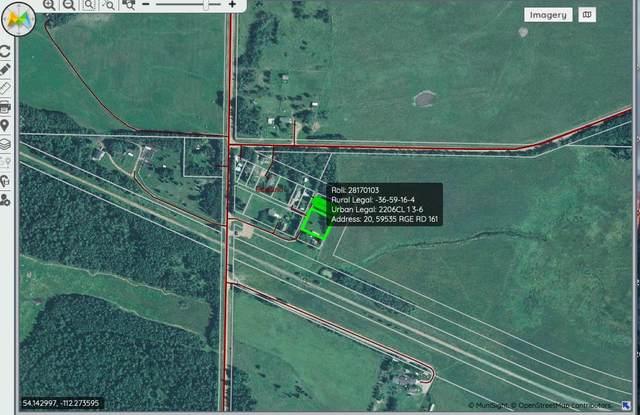 20 59535 Range Road 161, Edwand, AB T0A 0J0 (#E4237493) :: Müve Team   Royal LePage ArTeam Realty