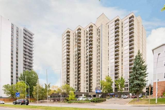501 10149 Saskatchewan Drive, Edmonton, AB T6E 6B6 (#E4237551) :: Initia Real Estate