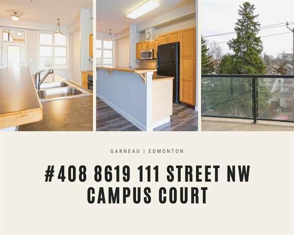408 8619 111 Street, Edmonton, AB T6G 2W1 (#E4237705) :: Initia Real Estate