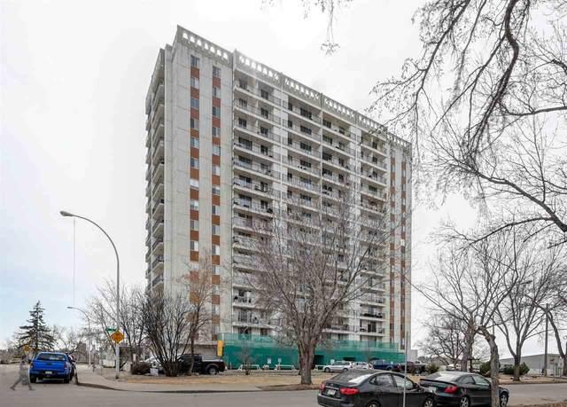 707 11307 99 Avenue NW, Edmonton, AB T5K 0H2 (#E4237706) :: The Foundry Real Estate Company
