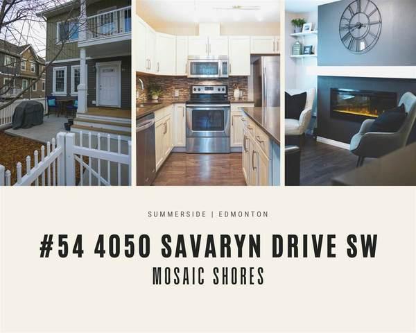 54 4050 Savaryn Drive, Edmonton, AB T6X 1R8 (#E4237715) :: Initia Real Estate