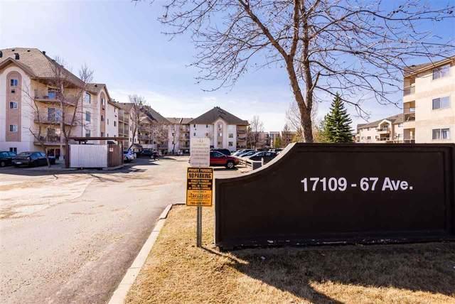 206 17109 67 Avenue, Edmonton, AB T5T 6E6 (#E4237752) :: Initia Real Estate