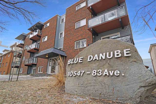 404 10547 83 Avenue, Edmonton, AB T6E 2E1 (#E4237759) :: RE/MAX River City