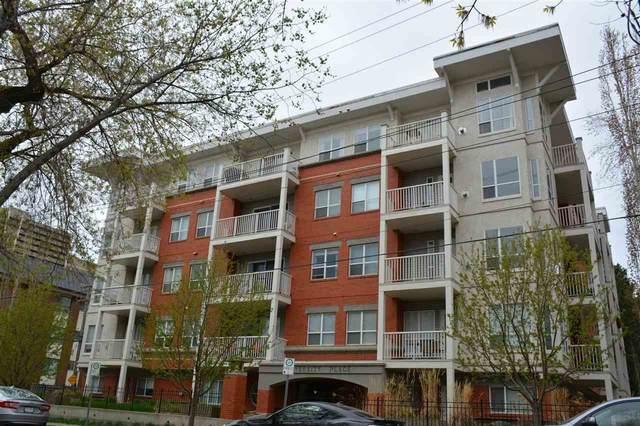 407 8488 111 Street, Edmonton, AB T6G 2V9 (#E4237848) :: The Foundry Real Estate Company