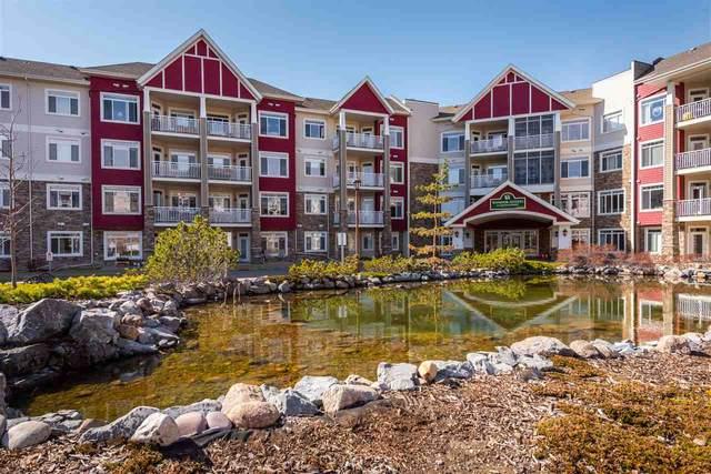 406 511 Queen St, Spruce Grove, AB T7X 0G4 (#E4237907) :: Initia Real Estate