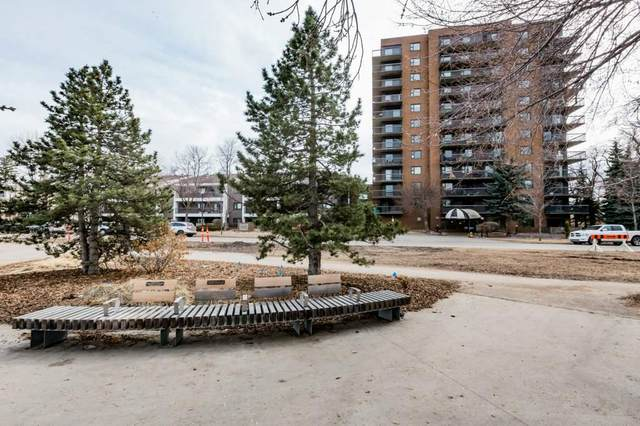 601 10545 Saskatchewan Drive, Edmonton, AB T6E 6C6 (#E4237937) :: The Foundry Real Estate Company