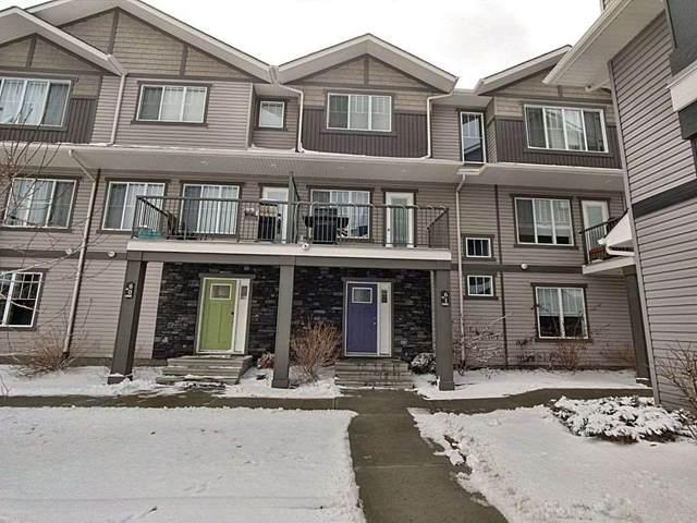 61 - 12815 Cumberland Road, Edmonton, AB T6V 0M2 (#E4237939) :: Initia Real Estate