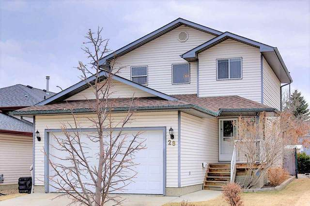 28 Hawthorne Crescent, St. Albert, AB T8N 6N5 (#E4237973) :: The Foundry Real Estate Company