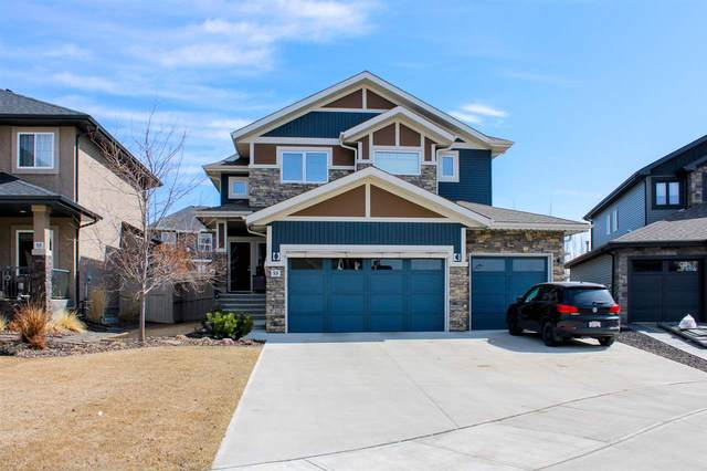 53 Executive Way N, St. Albert, AB T8N 4G6 (#E4237978) :: The Foundry Real Estate Company