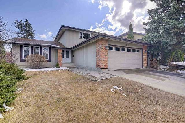 21 Woodlake Road, Sherwood Park, AB T8A 4B3 (#E4237997) :: The Foundry Real Estate Company