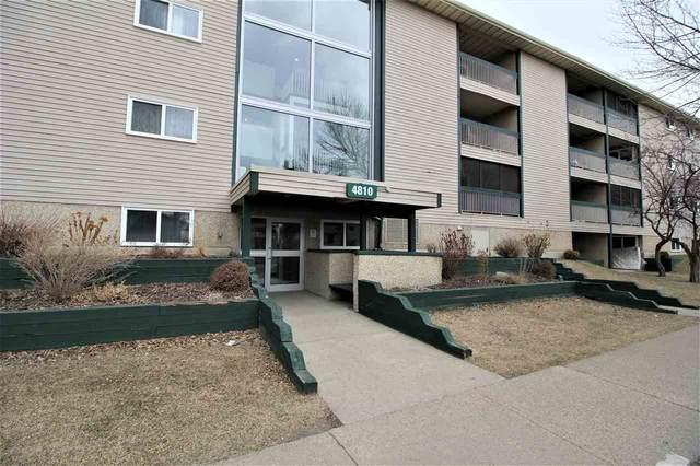 306 4810 Mill Woods Road S, Edmonton, AB T6L 5N9 (#E4238051) :: Initia Real Estate