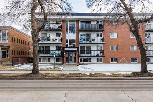 106 10149 83 Avenue, Edmonton, AB T6E 2C5 (#E4238057) :: The Foundry Real Estate Company
