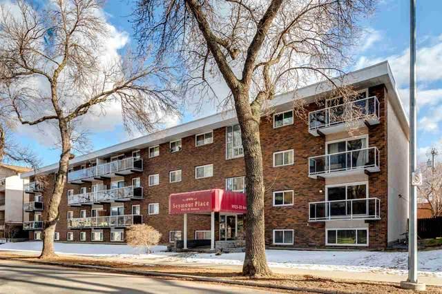 402 9925 83 Avenue, Edmonton, AB T6E 2B9 (#E4238088) :: RE/MAX River City