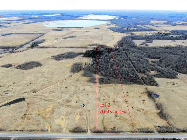lot 2 Rge Rd  221 Twp Rd 503, Rural Leduc County, AB T0B 3M2 (#E4238122) :: The Foundry Real Estate Company