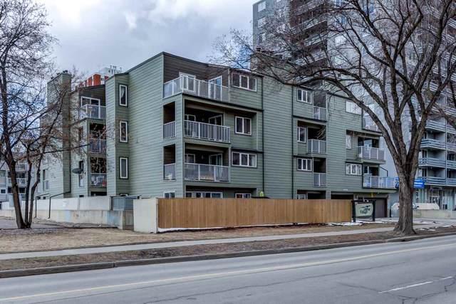 107 10138 116 Street, Edmonton, AB T5K 1V8 (#E4238251) :: RE/MAX River City