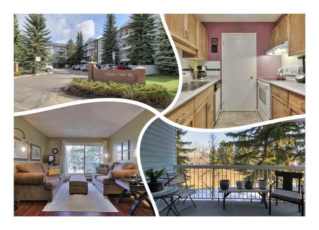 215 15503 106 Street, Edmonton, AB T5X 5W7 (#E4238419) :: Initia Real Estate