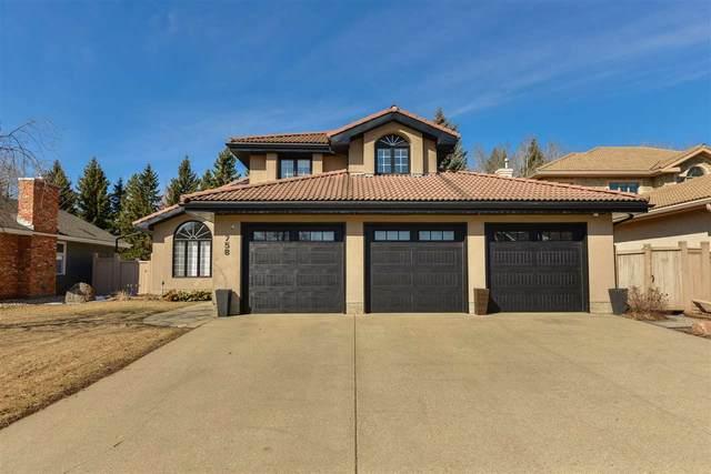 758 Wheeler Road W, Edmonton, AB T6M 2E6 (#E4238532) :: Initia Real Estate