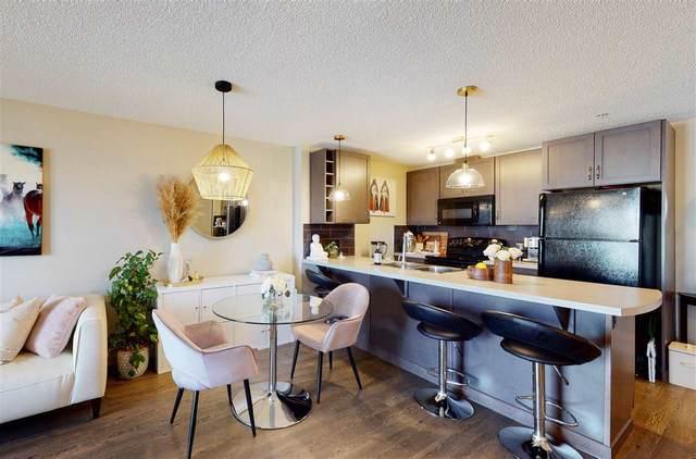 221 6084 Stanton Drive, Edmonton, AB T6X 0Z4 (#E4238551) :: RE/MAX River City