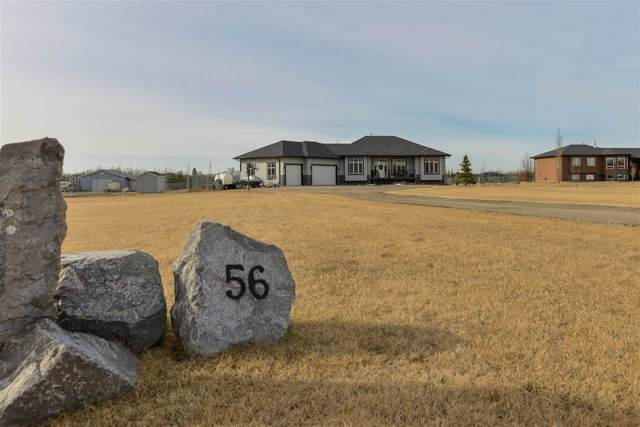 56 53521 RGE RD 272, Rural Parkland County, AB T7X 3M5 (#E4238575) :: Initia Real Estate