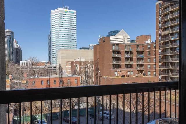 504 9921 104 Street, Edmonton, AB T5K 2K3 (#E4238783) :: RE/MAX River City