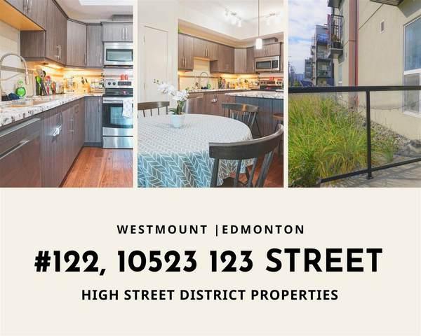122 10523 123 Street, Edmonton, AB T5N 1N9 (#E4238843) :: RE/MAX River City