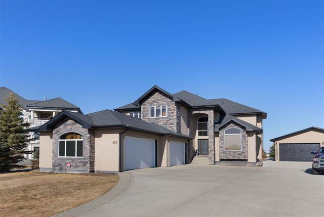 557 Manor Pointe Court, Rural Sturgeon County, AB T8T 0C7 (#E4238853) :: The Good Real Estate Company
