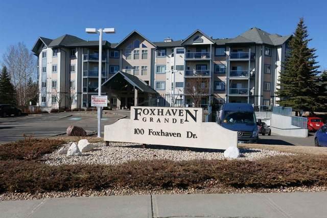 101 100 Foxhaven Drive, Sherwood Park, AB T8A 6B6 (#E4238926) :: Initia Real Estate