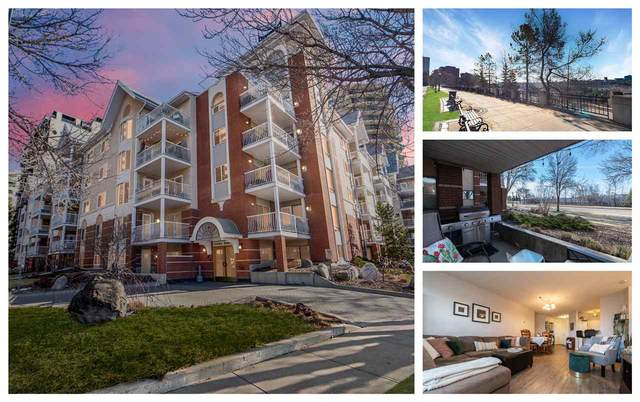 112 11716 100 Avenue, Edmonton, AB T5K 2G3 (#E4239246) :: The Foundry Real Estate Company