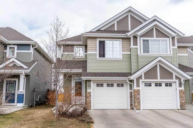 2315 73 Street SW, Edmonton, AB T6X 0V5 (#E4239347) :: Initia Real Estate