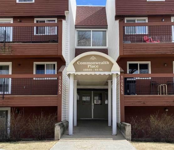 312 10555 93 Street, Edmonton, AB T5H 4C1 (#E4239405) :: Initia Real Estate