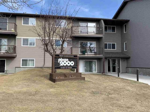 324 15105 121 Street, Edmonton, AB T5X 2G3 (#E4239504) :: Initia Real Estate