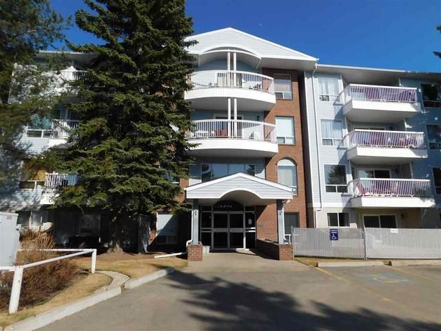 107 15503 106 Street, Edmonton, AB T5X 5W7 (#E4239553) :: Initia Real Estate