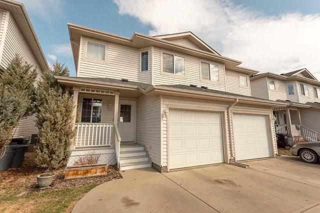 23 16933 115 Street, Edmonton, AB T5X 6E3 (#E4239637) :: Initia Real Estate