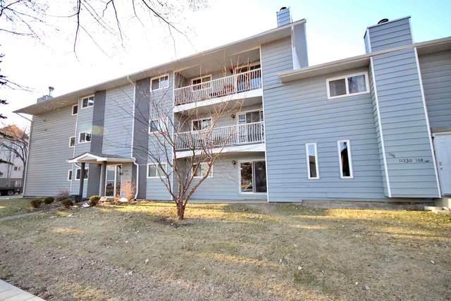 202 11330 108 Avenue, Edmonton, AB T5H 1B6 (#E4239846) :: RE/MAX River City
