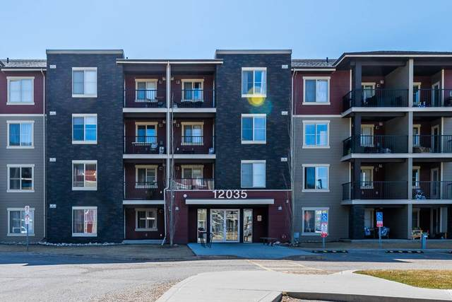 323 12035 22 Avenue, Edmonton, AB T6W 2X9 (#E4239971) :: Initia Real Estate