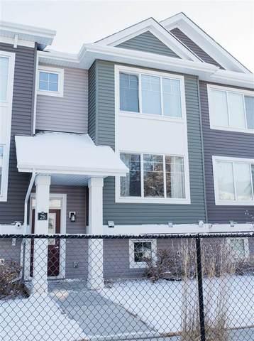 28 5203 149 Avenue, Edmonton, AB T5A 1B5 (#E4239990) :: The Good Real Estate Company