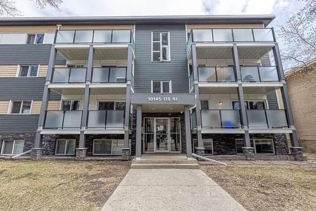 109 10145 113 Street, Edmonton, AB T5K 1P1 (#E4240022) :: The Foundry Real Estate Company